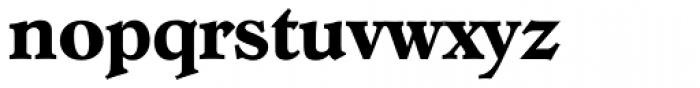 Hoboken Serial Bold Font LOWERCASE