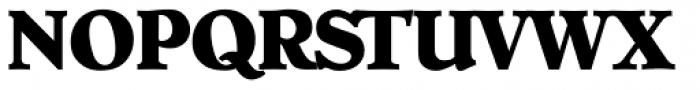 Hoboken Serial ExtraBold Font UPPERCASE