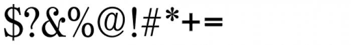 Hoboken Serial Light Font OTHER CHARS