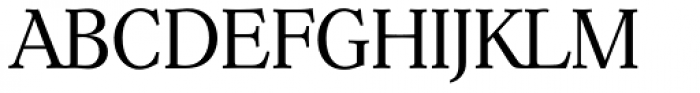 Hoboken Serial Light Font UPPERCASE
