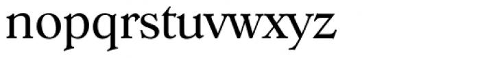 Hoboken Serial Light Font LOWERCASE
