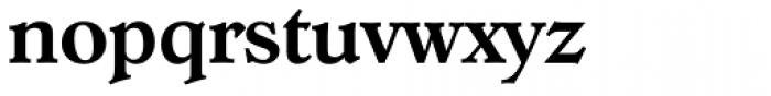 Hoboken Serial Medium Font LOWERCASE