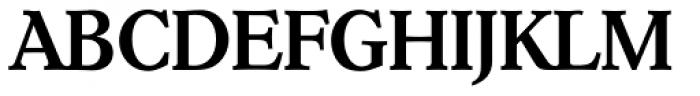 Hoboken TS Medium Font UPPERCASE