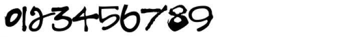Hodgepodge Handlettered Font OTHER CHARS