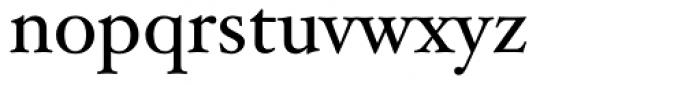 Hoefler Text Font LOWERCASE
