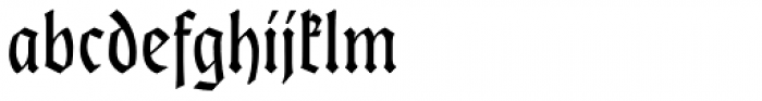 Hoelderlin Font LOWERCASE