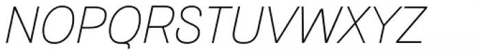 Hogar Light Italic Font UPPERCASE