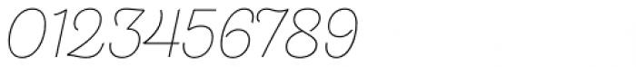 Hogar Script Extra Light Font OTHER CHARS