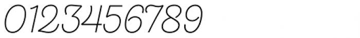 Hogar Script Light Font OTHER CHARS