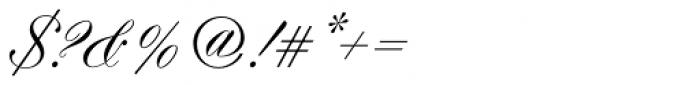 Hogarth Script D Font OTHER CHARS