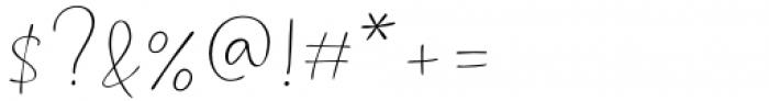 Hoho Christmas Regular Font OTHER CHARS