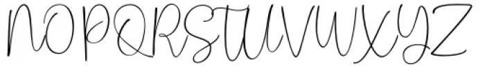 Hoho Christmas Regular Font UPPERCASE