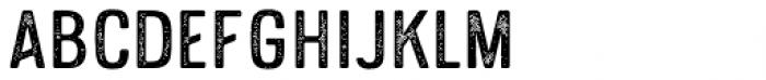 Hokyaa Sans Press Font UPPERCASE