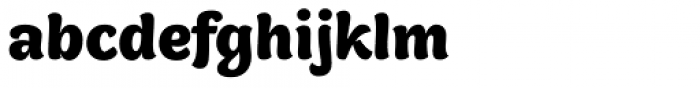 Holden Bold Font LOWERCASE