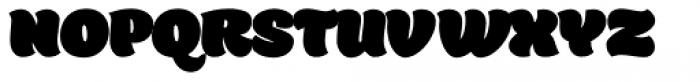 Holden Fat Font UPPERCASE