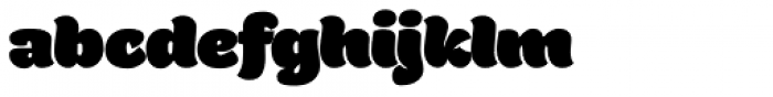 Holden Fat Font LOWERCASE