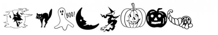Holiday Pi Font UPPERCASE