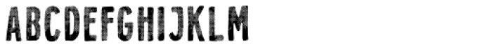 Holistic Sans Halftone Font UPPERCASE