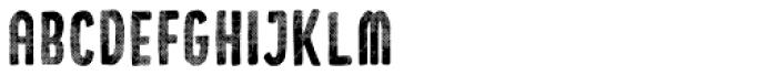 Holistic Sans Halftone Font LOWERCASE