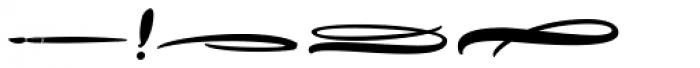 Hollie Script Pro Ornaments Font OTHER CHARS