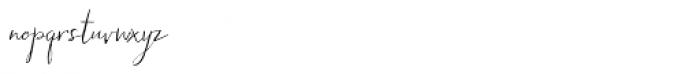 Hollyhock Font LOWERCASE