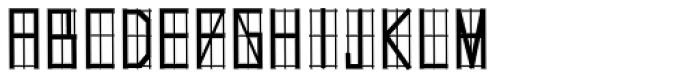 Hollywood 69 Font UPPERCASE