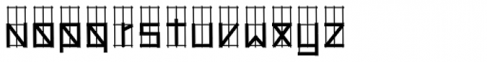 Hollywood 69 Font LOWERCASE