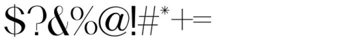 Holt Sans Font OTHER CHARS