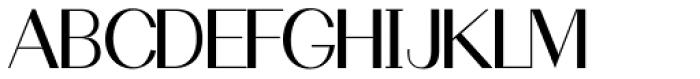 Holt Sans Font UPPERCASE