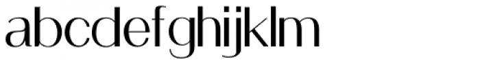 Holt Sans Font LOWERCASE