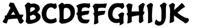 Holy Grail Bold Font UPPERCASE