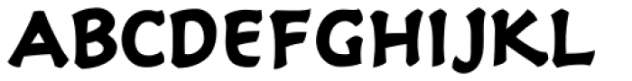 Holy Grail Bold Font LOWERCASE