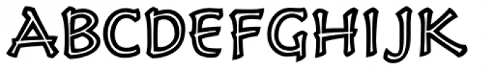 Holy Grail Lore Bold Font UPPERCASE