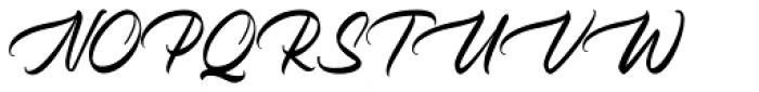 Holystone Regular Font UPPERCASE
