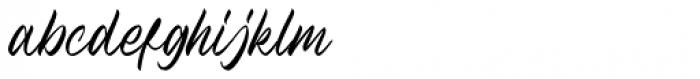 Holystone Regular Font LOWERCASE