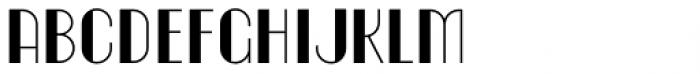 Homa Font UPPERCASE