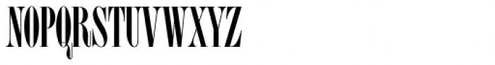 Homage Condensed Medium Font UPPERCASE