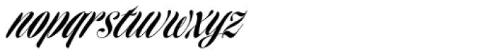 Homage Script Font LOWERCASE