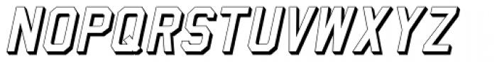 Home Field Oblique JNL Font UPPERCASE