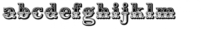Home Style Font LOWERCASE