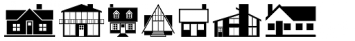 Home Sweet Home Font LOWERCASE