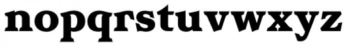 Homeland BT Black Font LOWERCASE