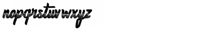 Homerun Gradient Bold Font LOWERCASE