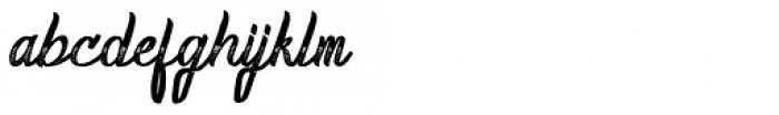 Homerun Gradient Font LOWERCASE