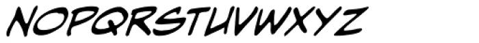 Hometown Hero BB Italic Font UPPERCASE