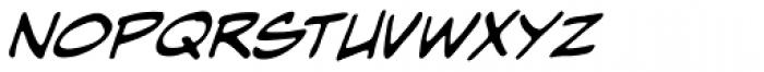 Hometown Hero BB Italic Font LOWERCASE