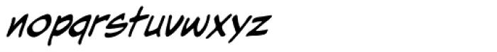 Hometown Hero Lowercase BB Italic Font LOWERCASE