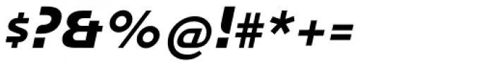 Honcho Italic Font OTHER CHARS