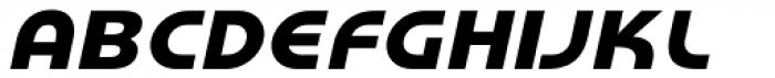 Honcho Italic Font UPPERCASE
