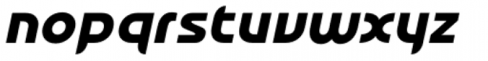 Honcho Italic Font LOWERCASE